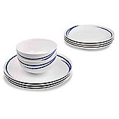Sabichi 12 Piece Atlantic Dinnerware Set