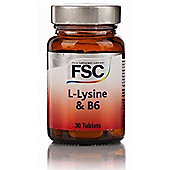 Fsc Lysine 500Mg 30 Tablets