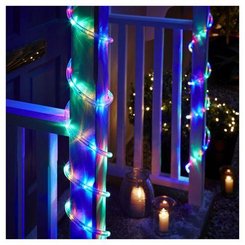 Led String Lights Tesco : Buy 6m LED Christmas Rope Lights, Multicoloured from our All Christmas range - Tesco