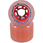 Suregrip Sugar Derby Orange 62mm Roller Derby Skate Wheels