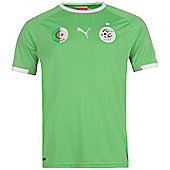 2014-15 Algeria Away World Cup Football Shirt - Green