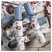 Santa Christmas Crackers,12 pack