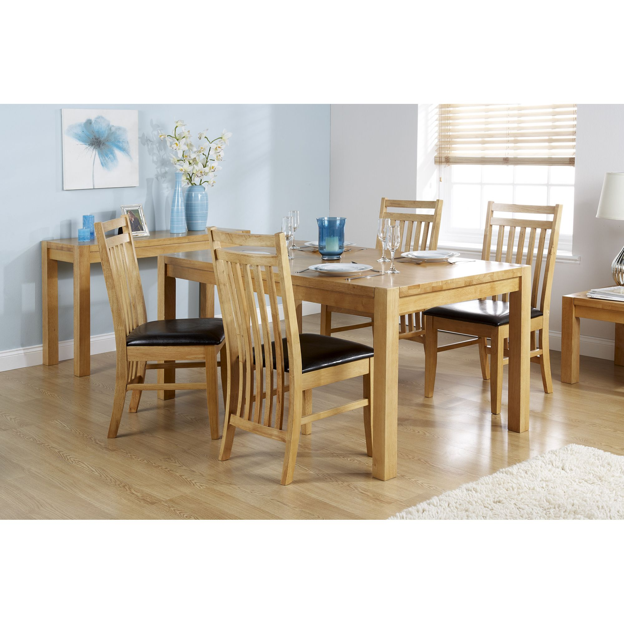 Elements Eve 5 Piece Dining Set at Tescos Direct