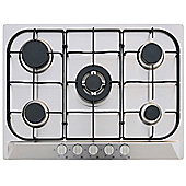 MyAppliances ART28908 70cm Gas Hob in Stainless Steel