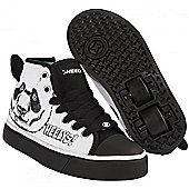 Heelys Zoo Series Panda Kids Heely X2 Shoe - Black