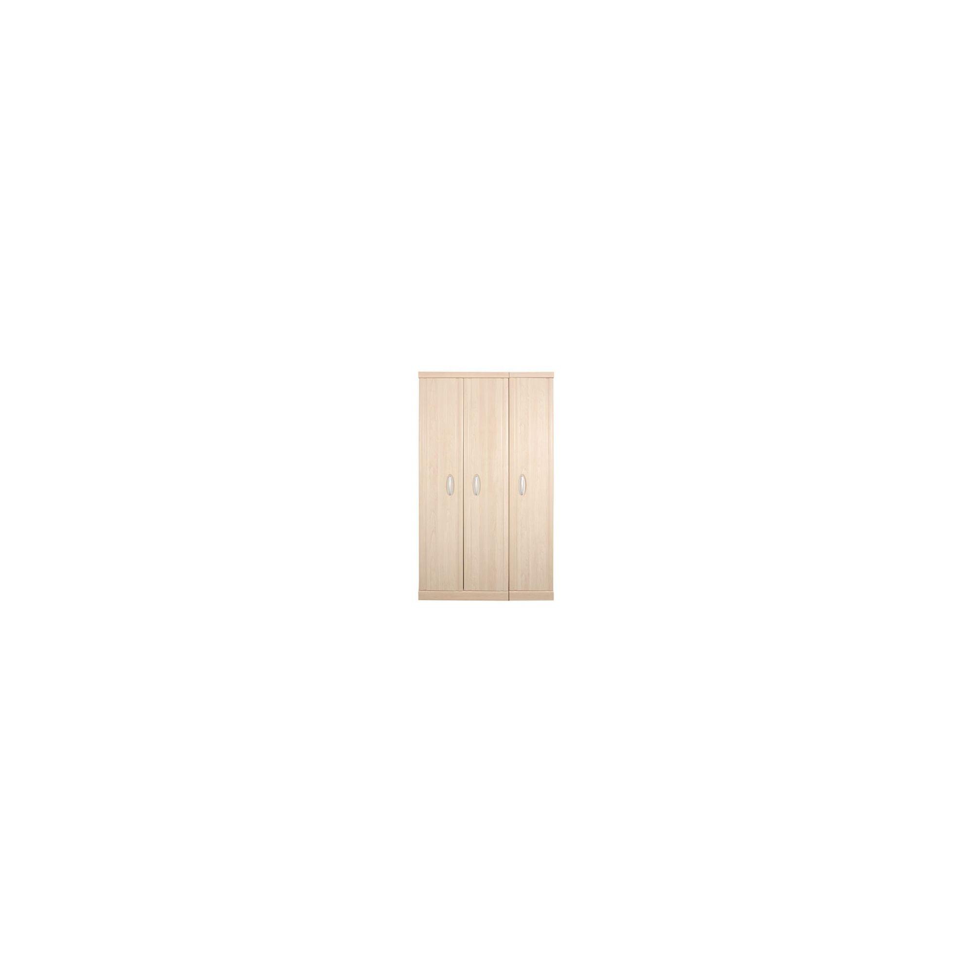 Caxton Strata 3 Door Wardrobe in Pearwood at Tesco Direct