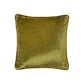 Linea Oversized Velvet Cushion, Green