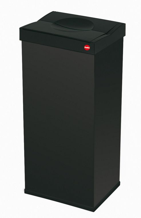 Hailo 72cm Big-Box 60 Spacious Waste Box in Black