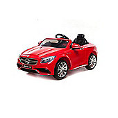 12V Mercedes S63 AMG Ride On Car Red