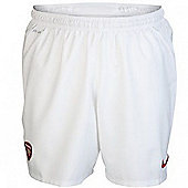 2012-13 Arsenal Nike Home Shorts (White) - White