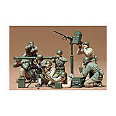 U.S Gun & Mortar Team - 1:35 Scale Military - Tamiya