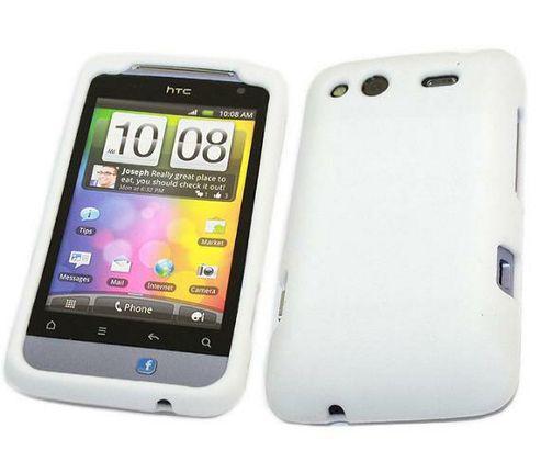iTALKonline SoftSkin Silicone Case White - For HTC Salsa