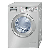Bosch WAQ2836SGB Washing Machine, 8 Kg Load, 1400 RPM Spin, Stainless steel, A+++ Energy