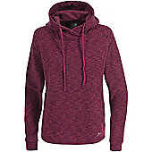 Trespass Ladies Katniss Fleece Hoody - Purple