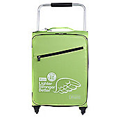 Z Frame 4-Wheel Super-Lightweight Suitcase, Green Small