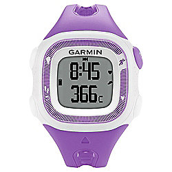 Garmin Forerunner 15 Running Watch Violet/White