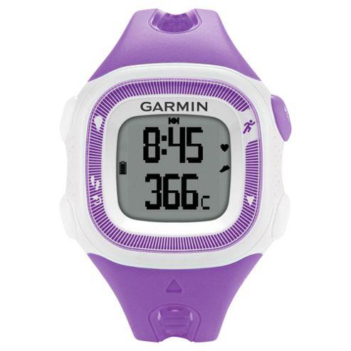 Garmin Forerunner 15 Running Watch Violet/White Small