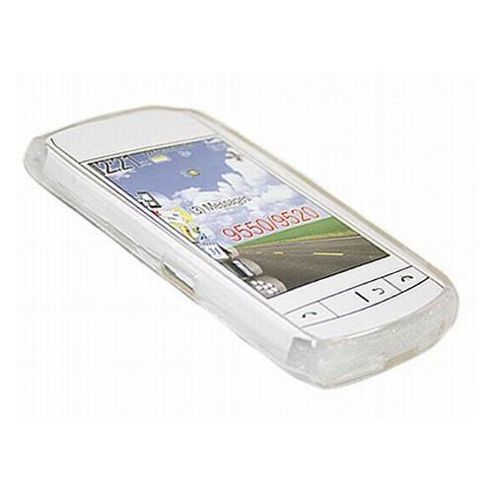 iTalkOnline ProGel Skin Case - BlackBerry 9520 Storm2 - White