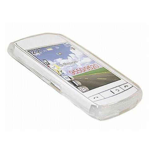 iTalkOnline ProGel Skin Case - BlackBerry 9520 Storm2 - White