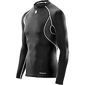 Skins Carbonyte Youth Thermal Long Sleeve Top - Black