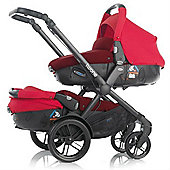 Jane Twone Tandem & 2 Matrix Light 2 Car Seat (Crimson)