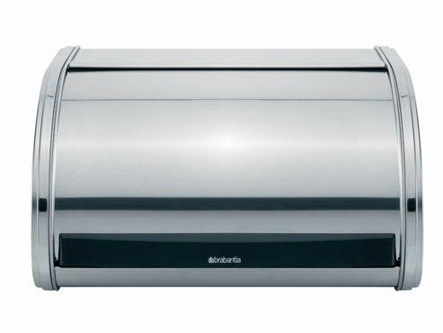 Brabantia 3395.85 Roll Top Bread Bin Brilliant Steel Medium