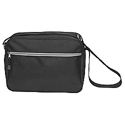 Tesco Messenger Bag, Black
