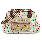 Pink Lining - Blooming Gorgeous Changing Bag - TULIPS & FORGET ME NOTS