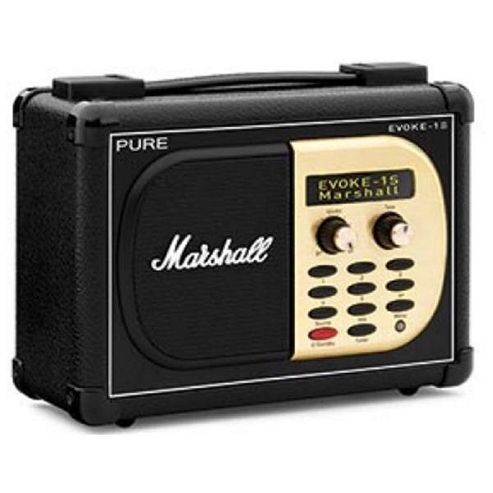 Pure EVOKE-1S Marshall Edition Radio - Black