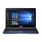 ASUS E200HA, 11.6-inch Laptop, Intel Atom, Windows 10, 2GB RAM, 32GB - Blue (Includes Office 365)