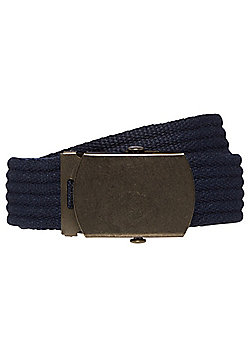 F&F Canvas Belt - Navy