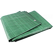 Yellowstone Ripstop Waterproof Groundsheet Green 8ft x 6ft