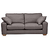 Whitstable Medium 3 Seater Tweed Sofa, Mocha