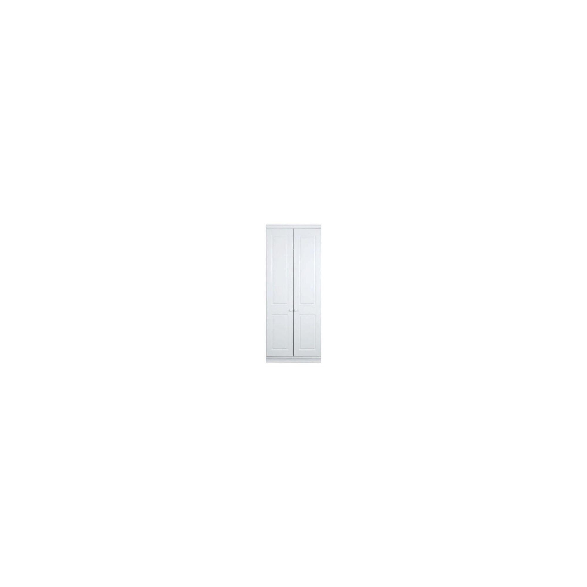 Caxton Henley 2 Door Wardrobe in White at Tesco Direct