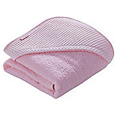 Clair de Lune Luxury Hooded Towel (Waffle Pink)