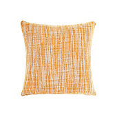 Linea Oversized Woven Cushion, Rust