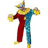 Evil Clown Outfit Large