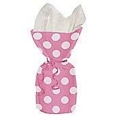 Pink Polka Dots Cellophane Party Bags