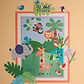 Jungle Friends Children's Wall Stickers