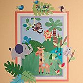 Jungle Friends Children's Wall Stickers