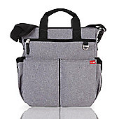 Skip Hop Duo Signature Changing Bag Heather Grey