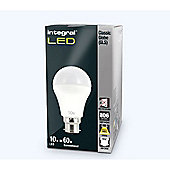 Pack Of Ten Integral B22 10W Warm White Globes