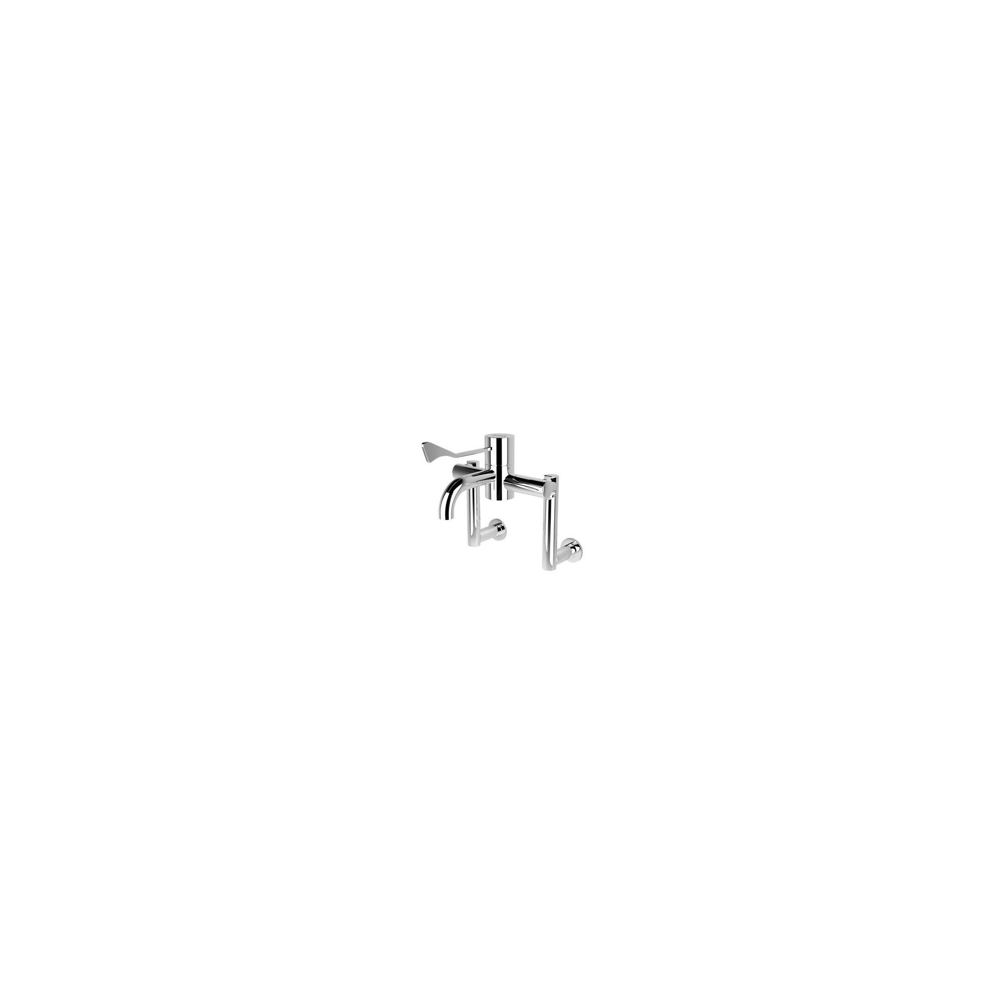 HTM64 Safe Touch Extended Wall Mounted Thermostatic Sequential Tap at Tesco Direct
