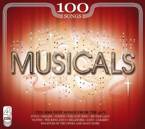 100 Songs Musicals (4Cd)