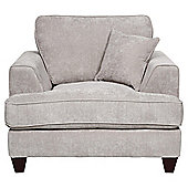 Hampton Fabric Chair, Light Grey