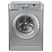 Indesit Innex Washing Machine, XWD71452S, 7KG Load, Silver
