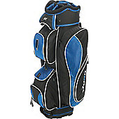 Jaxx Unisex N5 14-Way Divider Golf Bag (Cart) in Black & Blue Cart