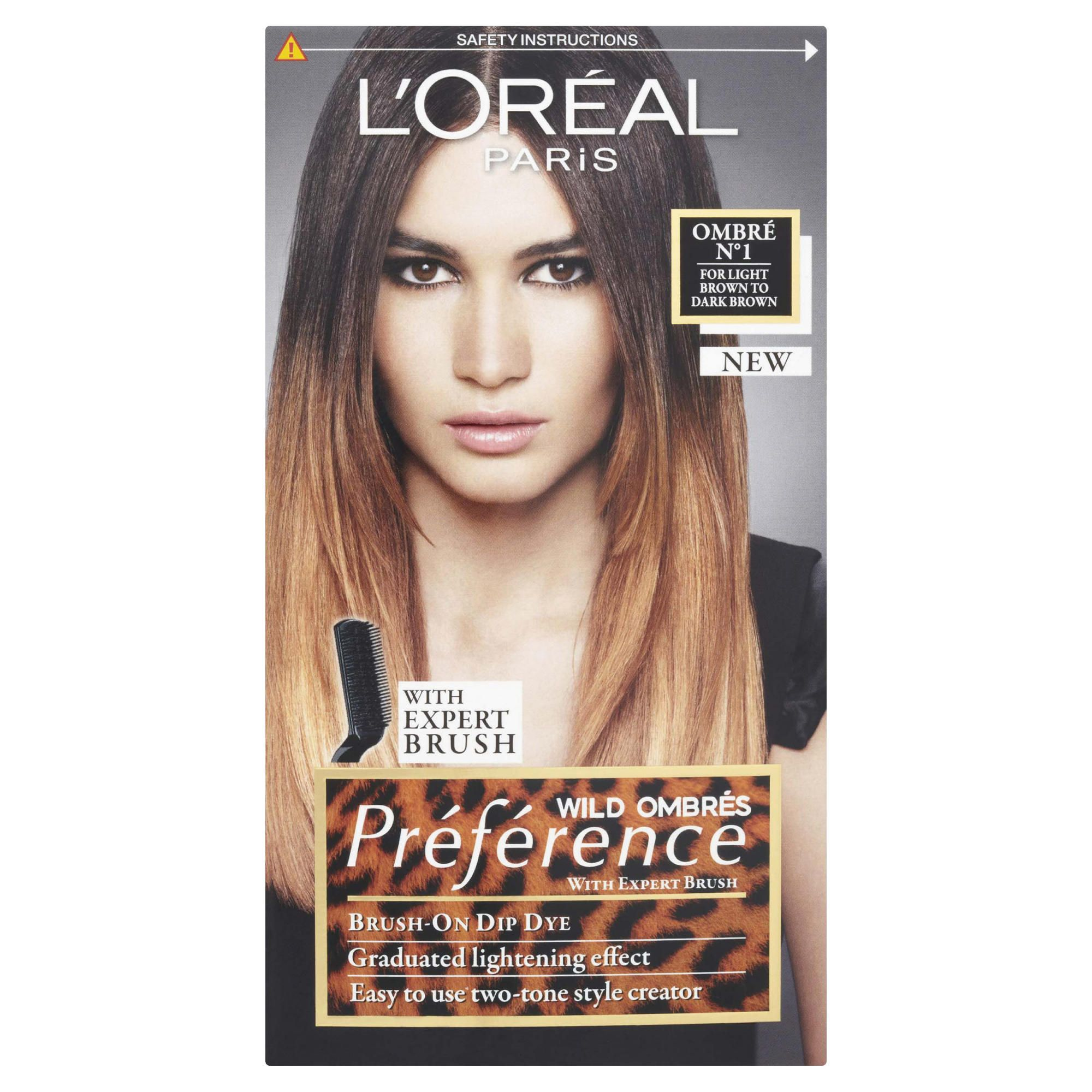 L'Oreal Preference Wild Ombre1