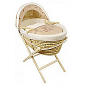 Dormouse Bailey, Hopps and Buzz Maize Moses Basket