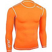 Sub Sports Dual Long Sleeve Top - Orange